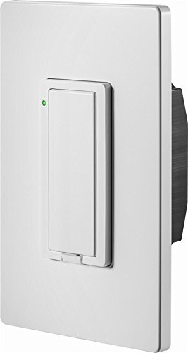 (Insignia Wi-Fi Smart In-Wall Light Switch - White - Model: NS-CH1XIS8)