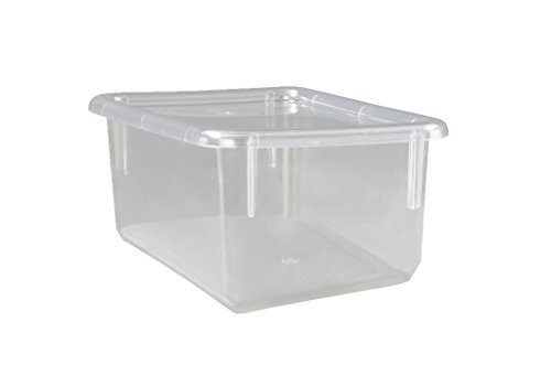 Childcraft Storage Tray - 12 1/4 x 7 7/8 x 5 1/4 - Clear - Lid Not Included