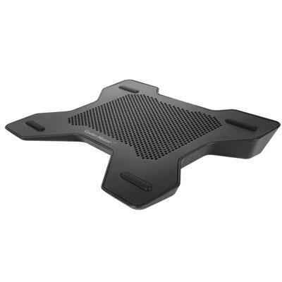 Coolermaster Notepal X-Lite Notebook Cooler Black For 9-14 Inch Support With 140mm Metal Rubber