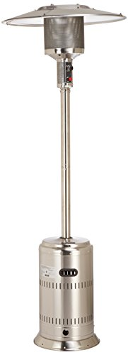 Fire Sense Commercial Patio Heater, Unpainted Stainless Steel by Fire Sense