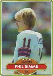 1980 Topps Football Complete Set 528 Cards Nrt to Mint Phil Simms Rookie