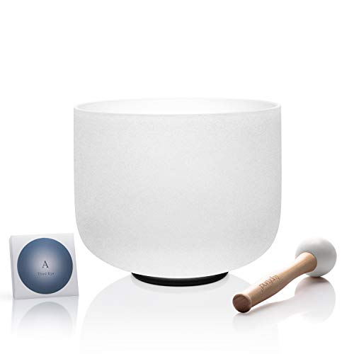 TOPFUND Crystal Singing Bowl A Note Third Eye Chakra for sale  Delivered anywhere in USA