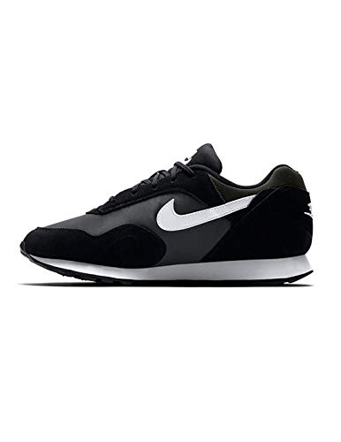Femme Outburst W Running NIKE Compétition de Chaussures White Black Noir anthracite 001 RUgq5w6