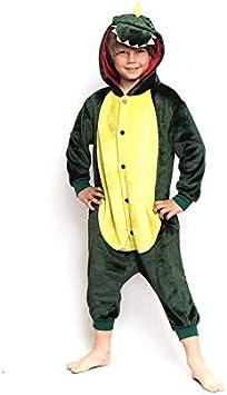 Disfraz Dragón Dinosaurio Infantil para Carnaval Pijama (3-4 años ...