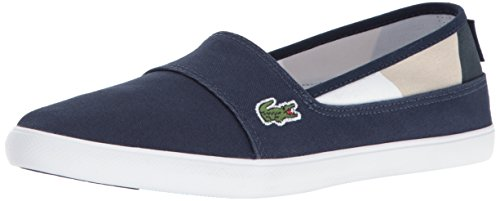 Women's Fashion Lacoste Marice 117 Navy 4 White Sneaker 8xSTqf