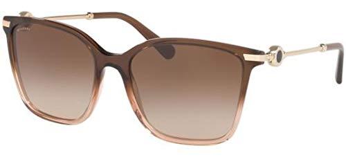 Bvlgari BVLGARI BVLGARI BV 8222 BROWN/BROWN SHADED 55/17/140 women Sunglasses (Bvlgari Sonnenbrille Damen)