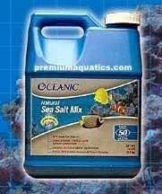 50 Gallon Oceanic Sea Salt (3pc)