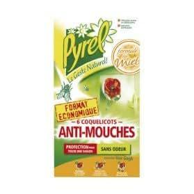 Anti-moscas-coquelicots-Juego de 6