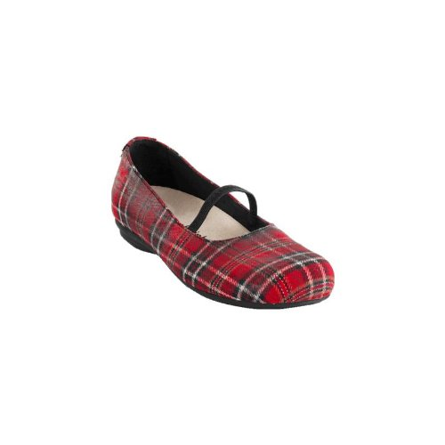 Footprints ''Macapa'' from Textile in Red Scottish Red Scottish 5paDnxqeX
