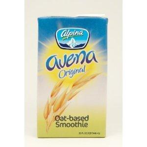 Alpina Oat-based Smoothie Original Flavor 32 oz (Pack of 6)