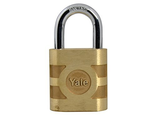 Yale Locks YAL850 54 mm Bronze Weatherproof Padlock by Yale Locks by Toolbank
