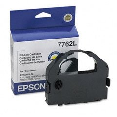 - Epson 7762L Black Ribbon for LQ-2550/2500/860 Impact Printer