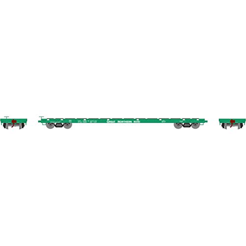 (Athearn HO RTR 60' Flat, GN #161151, ATH92677)