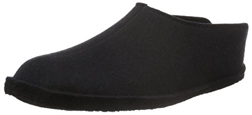 Haflinger Flair Smily, Womens Slippers Black (Schwarz 03)