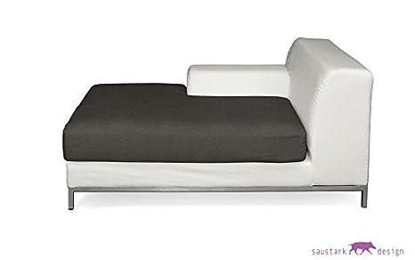 Sylt gris oscuro de funda protectora para IKEA KRAMFORS ...