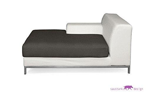 SYLT gris voto anticiparon para IKEA Chaise longue KRAMFORS ...
