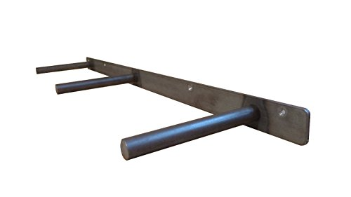 32'' Floating Shelf Heavy Duty Solid Steel Bracket- For 36'' + Shelves MADE IN THE USA! by Walnut Wood Works (Image #1)