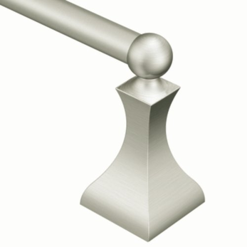 Moen DN8324BN Retreat 24-Inch Bathroom Towel Bar, Brushed Nickel