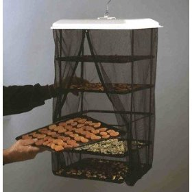 Food Dehydrator Hanging Food Pantrie Dehydration System Non Electric, Environmentally Friendly, Natural Way to Dry Foods. 5 tray Dehydrator