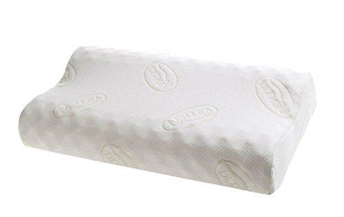 Ventry 100% Natural Latex Foam Memory Pillow Convoluted Massage Pillow (Contour Pillow)