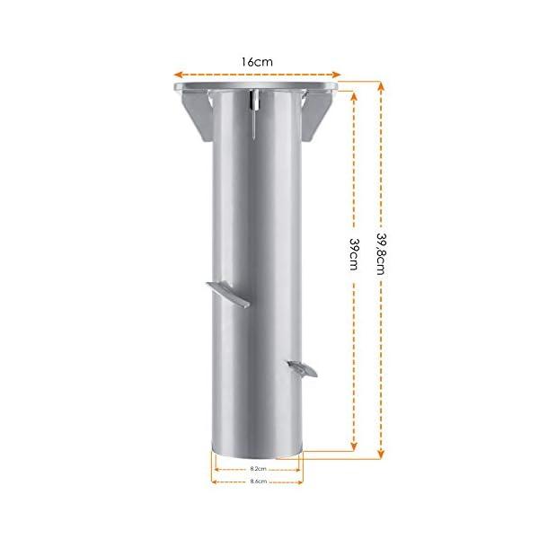 31XndJ8wKNL KESSER® - Metall Universal-Bodenplatte Sonnenschirmständer für Sonnenschirm - Ampelschirm - Kurbelschirm   Bodenanker…