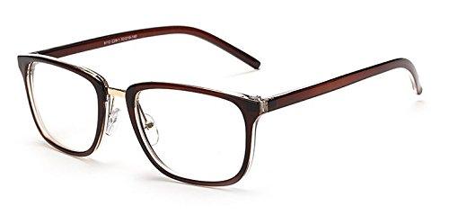a7e2d4c460e983 Embryform Fashion lunettes cadre professionnel monture de lunettes Marron  ...