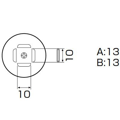 白光:ノズル/PLCC 11.5X11.5MM A1140B 000056801140  B01AXY556G