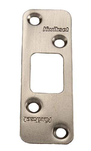 Kwikset 83223 Deadbolt Round Corner Strike, Satin Nickel Color: Satin Nickel, Model: 83223-15, Tools & Hardware store