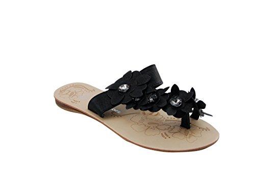 Max shoes - Sandalias Deportivas Niñas Negro - negro