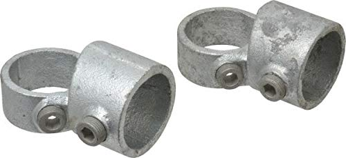 Kee - 1-1/4 Inch Pipe, Adjustable Side Outlet Tee, Malleable Iron Pipe Rail Fitting