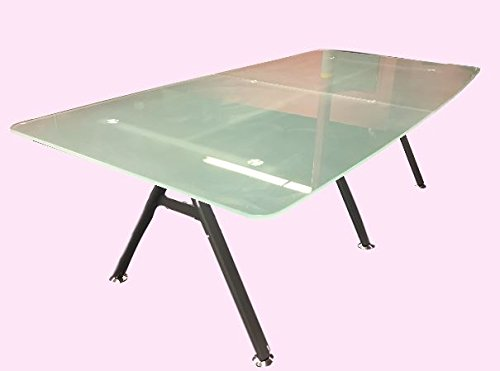 Modern Tempered Frosted Glass Conference table 95