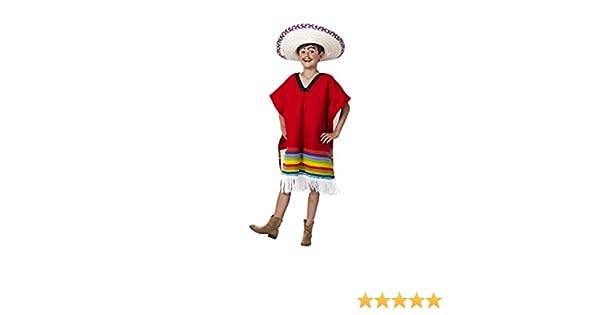 Costumizate! Disfraz de Mexicano Talla 10-12 Especial para niños ...