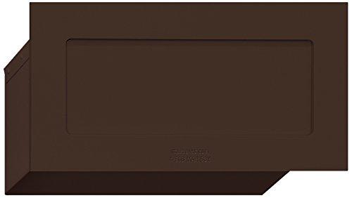 Salsbury Industries 2255BRZ Mail Drop, Bronze
