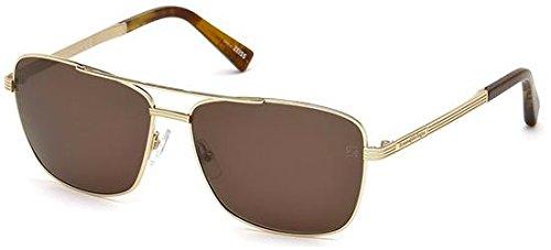 Sunglasses Ermenegildo Zegna EZ 31 EZ0031 32J gold for sale  Delivered anywhere in USA