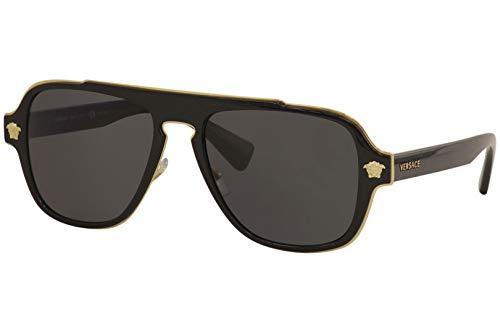 Versace Mens Sunglasses Black Metal product image