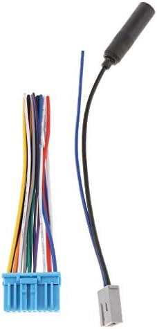 ホンダ アキュラ スズキ対応 ISO配線ハーネス コネクタ プラグ ラジオ ケーブル