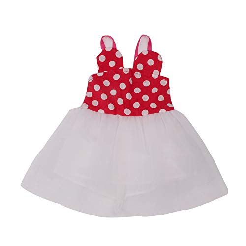 Cinhent Toys Interesting Club Entertainment Summer Beautiful Cute Clothes Skirt for 18 Inch American Girl Doll Accessory Girl's Gift (Red)