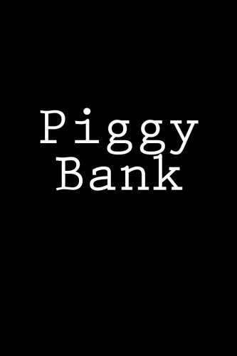 Download Piggy Bank: Notebook, 150 lined pages, glossy softcover, 6 x 9 ebook