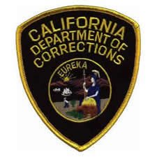 california-department-of-corrections-shoulder-patch-old-school-eureka-cdc-cdcr-california-dept-of-co