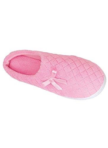 Pantofola Pantofola Pantofola Trapuntata Trapuntata Da Donna Amerimark Rosa