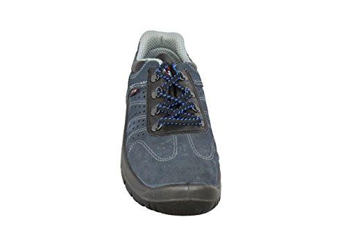 Zapatos Color S1 Arco Poco De Seguridad Profundas Trabajan Src Almar Azul F1dq7w