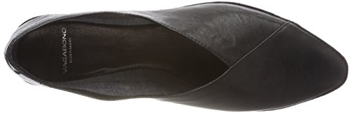 Black Toe Women's Vagabond Ballet Closed Antonia Flats Black wYfnZCpq