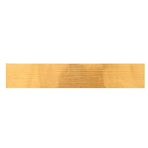 YYQ 5 Meters Long Beauty Stitch Self-adhesive Living Room Roof Line Wall Stickers Brushed Gold Foil Ceiling Decoration Beautify the wall (Size : 2.5500cm)
