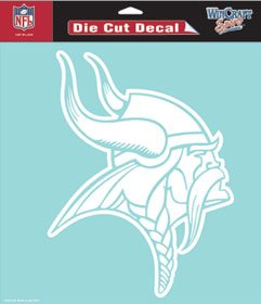 Minnesota Vikings 8''x8'' Die-Cut Decal Official Licensed NFL by Hall of Fame Memorabilia