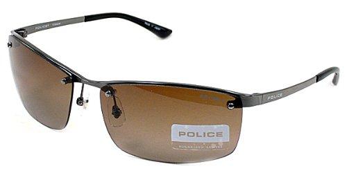 4fb4000d5824 Amazon   (ポリス) POLICE 偏光 サングラス ジャパンモデル S8864J 568P   サングラス 通販