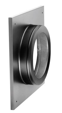 46DVA-DC - Round Ceiling Support/ Wall Thimble Cover- 4''x6 5/8'' Direct Vent