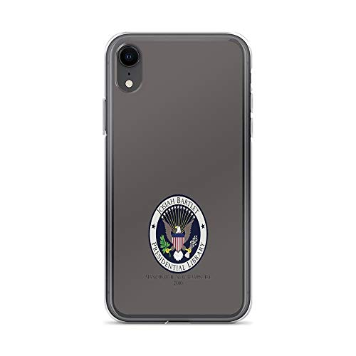 iPhone XR Case Clear Anti-Scratch Josiah Bartlet Presidential Library Logo, west Wing Cover Phone Cases for iPhone XR, Crystal Clear]()