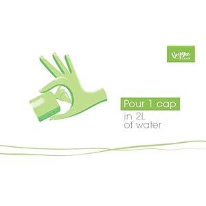 Veggie Clean 400 ml, 100%...