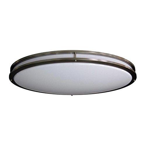 - AMAX Lighting LED-JR005LNKL 32.12 x 18 in. LED Ceiling Fixture - JR Brushed Nickel
