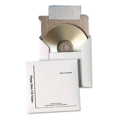 Foam Lined Cd Mailers (Quality Park Disk/CD Foam-Lined Mailers)